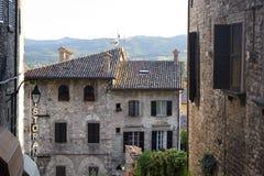 Gubbio (Perugia) Royalty Free Stock Photos