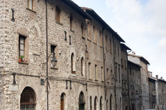 Gubbio (Perugia) Royalty Free Stock Photos