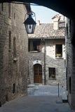 Gubbio (Perugia) stockbilder