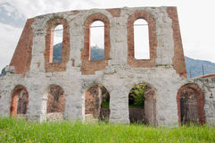 Gubbio, roman amphiteatre Royalty Free Stock Photography