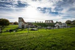 Gubbio Roman Theatre in Italy Royalty Free Stock Photo