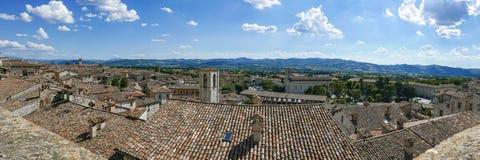 Gubbio roofs Stock Photo