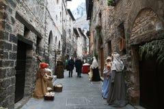 Gubbio's nativity Royalty Free Stock Photography