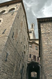 Gubbio street 1 Royalty Free Stock Photography