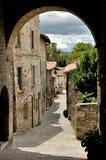Gubbio street 2 Stock Image