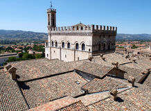 Gubbio town Royalty Free Stock Photos