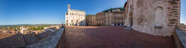 Gubbio - Umbria - Italien Arkivfoton