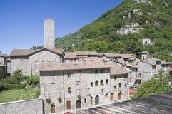 Gubbio. Umbria. Italy. Royalty Free Stock Photography
