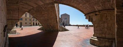 Gubbio, Umbria, Włochy - Zdjęcia Stock