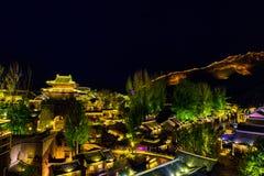 Gubei vattenstad, Miyun County, Peking, Kina Royaltyfri Fotografi