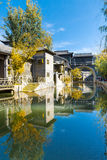 Gubei water town in Beijing Royalty Free Stock Images