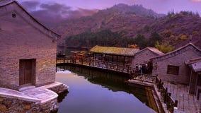 Gubei Watertown, Πεκίνο, Κίνα Στοκ Φωτογραφίες