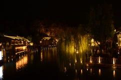 GuBei Watertown de l'automne image stock