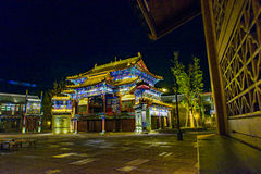 Gubei wody miasteczko, Miyun okręg administracyjny, Pekin, Chiny fotografia stock