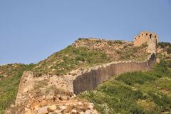 Gubeikou Great Wall in Beijing. This is the ancient Great Wall of Beijing gubeikou Stock Photo