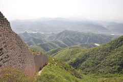 Gubeikou Great Wall in Beijing Stock Photography