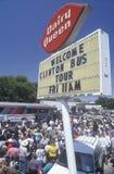 Gubernator Bill Clinton i Senatora Al Krew zdjęcie royalty free