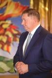 gubernator Leningrad region Sergey Yakhnyuk V Fotografia Royalty Free