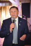 gubernator Leningrad region Sergey Yakhnyuk V Zdjęcia Stock