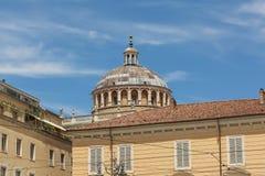 Gubernatora s pałac, piazza Garibaldi, Parma, Włochy Zdjęcie Stock