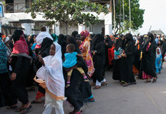 Gubernatorska agitacja przedwyborcza w Lamu, Kenja Obraz Stock