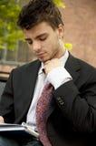 gubienie krawat Obrazy Royalty Free