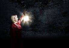 Gubjący w nocy Obraz Royalty Free