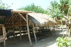 Gubuk di Pantai Royaltyfria Bilder