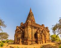 Gubyaukgyi寺庙在Bagan 库存照片