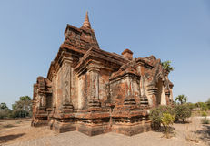 Gubyaukgyi寺庙Bagan 免版税库存照片