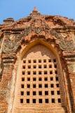 Gubyaukgyi tempel Bagan Royaltyfri Foto