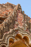 Gubyaukgyi tempel Bagan Royaltyfria Foton