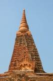 Gubyaukgyi tempel Bagan Fotografering för Bildbyråer
