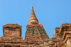 Gubyaukgyi Temple Bagan Royalty Free Stock Photos