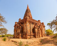 Gubyaukgyi Temple Bagan Royalty Free Stock Photography