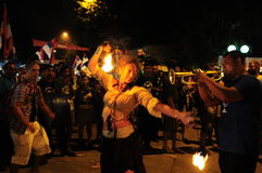 Guca Trumpet Festival Stock Photo