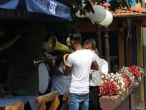 Guca trumpetfestival 2018 arkivbilder