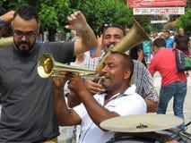 Guca trumpetfestival 2018 arkivfoto