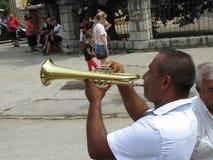 Guca trumpetfestival 2018 royaltyfri foto