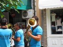 Guca trumpetfestival 2018 royaltyfria bilder
