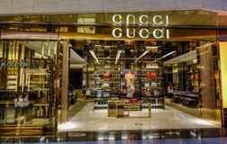 Gucci Boutique in Haneda Airport royalty free stock photography