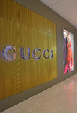 Gucci boutique in high end fashion mall Stock Photography