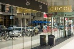 Gucci butik przy Friedrichstrasse Obrazy Stock