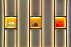 Gucci designer handbags Royalty Free Stock Image
