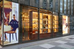 Gucci en Japón Imagenes de archivo