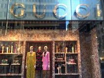 Gucci entreposé à New York Photos libres de droits