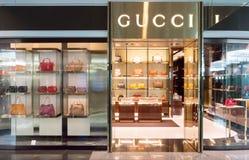Gucci entreposé dans l'aéroport de Munich Photos libres de droits