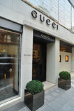 Gucci fashion store Stock Photography