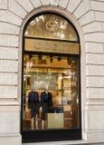 Gucci fashion store, Budapest, Hungary Stock Photography