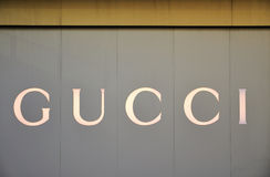 GUCCI flagship store. Located in Shanghai,China Stock Photography